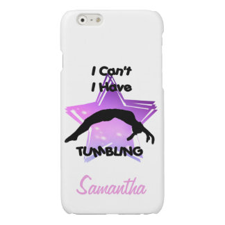 Tumbling Gymnastics Glossy iPhone 6 Case