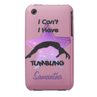 Tumbling Gymnastics iPhone 3 Case