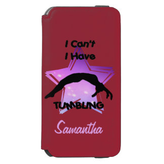 Tumbling Gymnastics iPhone 6/6s Wallet Case