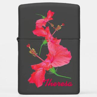 """""""tumbling hibiscus"""" ZIPPO Zippo Lighter"""