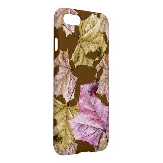 """tumbling leaves"" Autumn iPhone 7 CASE"