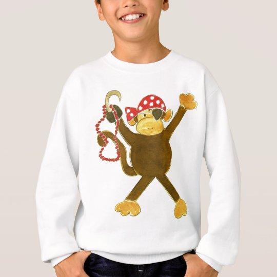 Tumbling Monkey Pirate Sweatshirt