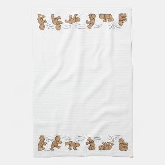 Tumbling Teddies Towel