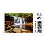 Tumbling Waterfall Postage Stamp