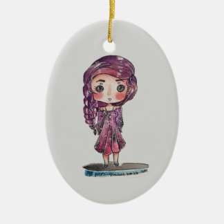 Tumblr Addict Ceramic Ornament
