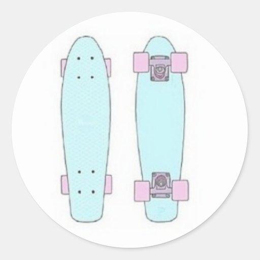 Tumblr Penny Board Sticker Stickers Zazzle