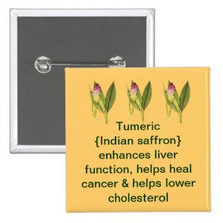 Tumeric button