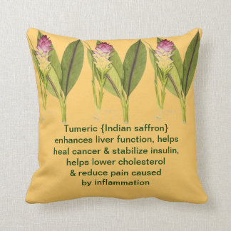Tumeric pillow