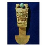 Tumi o cuchillo ceremonial en la forma de postales