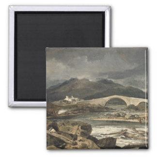 Tummel Bridge, Perthshire, c.1801-03 (oil on panel Magnet