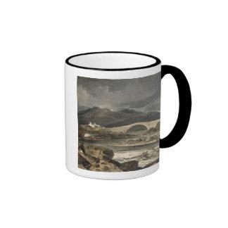 Tummel Bridge, Perthshire, c.1801-03 (oil on panel Mugs