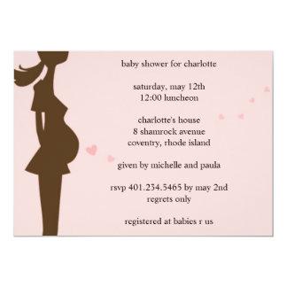 tummy love; baby shower card