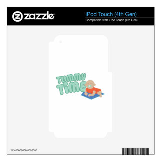 Tummy Time Skins For iPod Touch 4G