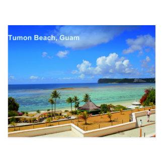 Tumon Bay, Guam Postcard