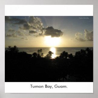 Tumon Bay, Guam. Poster