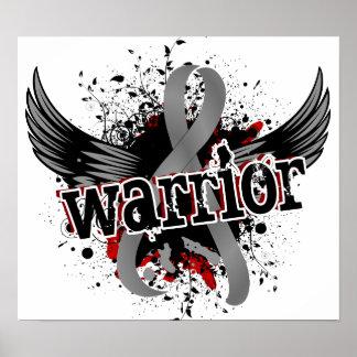 Tumor cerebral del guerrero 16 impresiones