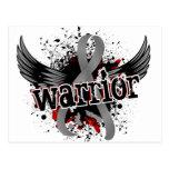 Tumor cerebral del guerrero 16 tarjeta postal