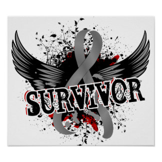 Tumor cerebral del superviviente 16 poster
