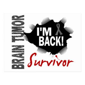Tumor cerebral del superviviente 7 postales