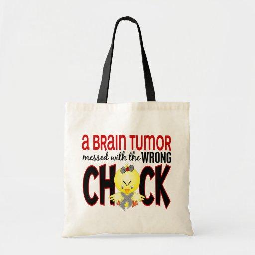Tumor cerebral ensuciado con el polluelo incorrect bolsas