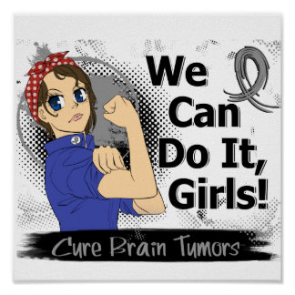 Tumores cerebrales del animado WCDI de Rosie Poster