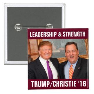 Tump/Christie 2016 Pinback Button