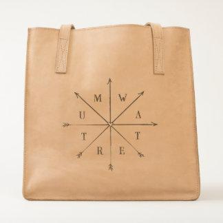 Tumwater, WA Arrows leather bag
