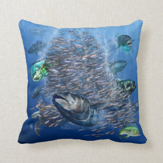 Tuna and Bait Pillow