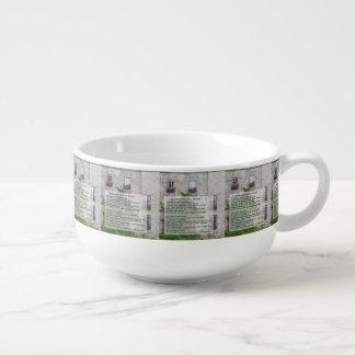 Tuna Corn Chowder Soup Mug