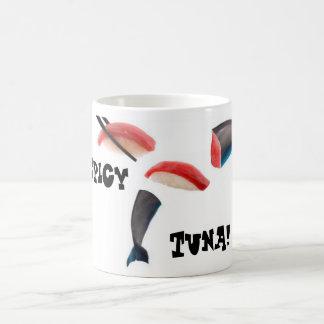 Tuna, er Dolphin Sushi Coffee Mugs