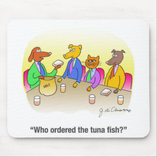 Tuna Fish Mouse Pads