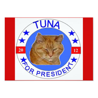 Tuna for President cards