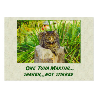 Tuna Martini Large Business Cards (Pack Of 100)