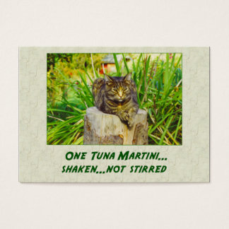 Tuna Martini Business Card