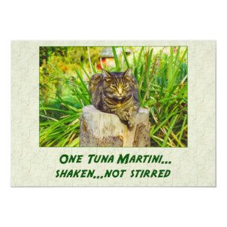 Tuna Martini Card