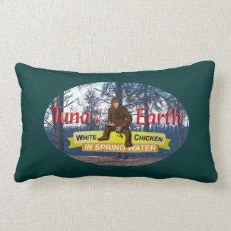 Tuna of the Earth Throw Pillow