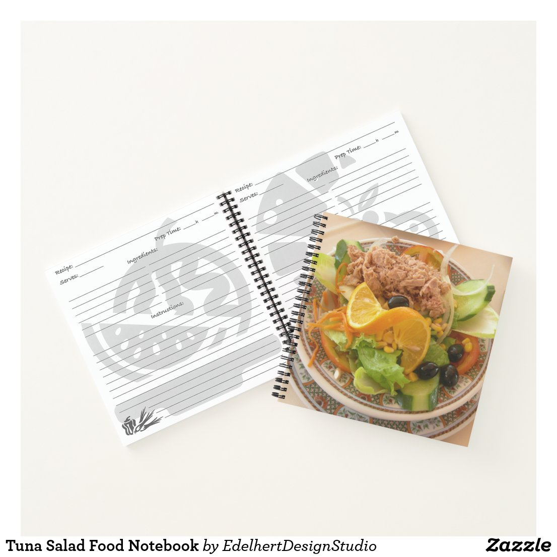 Tuna Salad Food Notebook