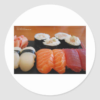 Tuna Salmon Whitefish Sushi Giftts Cards Tees Stickers