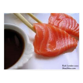 Tuna Sushi Kabobs W/Soy Gifts Tees Cards Etc Post Cards
