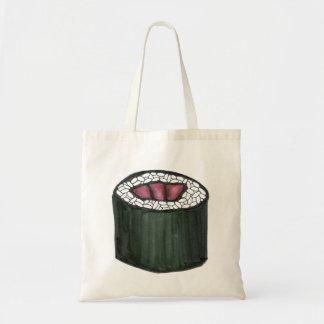 Tuna Sushi Roll Tote Bag