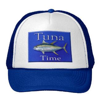 Tuna time trucker hat