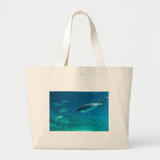 Tuna underwater canvas bag