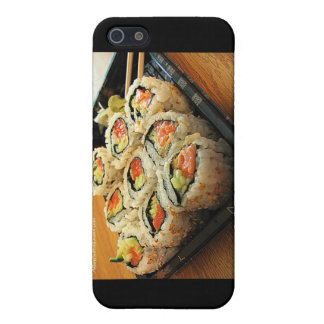 Tuna, Yellowtail Sushi & some Calif Rolls Cover For iPhone SE/5/5s