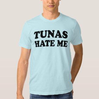 Tunas hate me t shirts