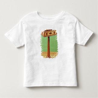 Tunbridge-ware tea poy t shirt