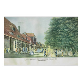 Tunbridge Wells, 1748 Poster