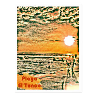 Tunco Postcard - Couples