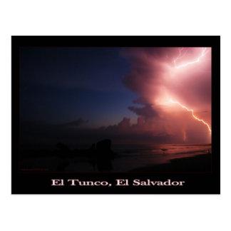 Tunco Postcard - El Agua Viene