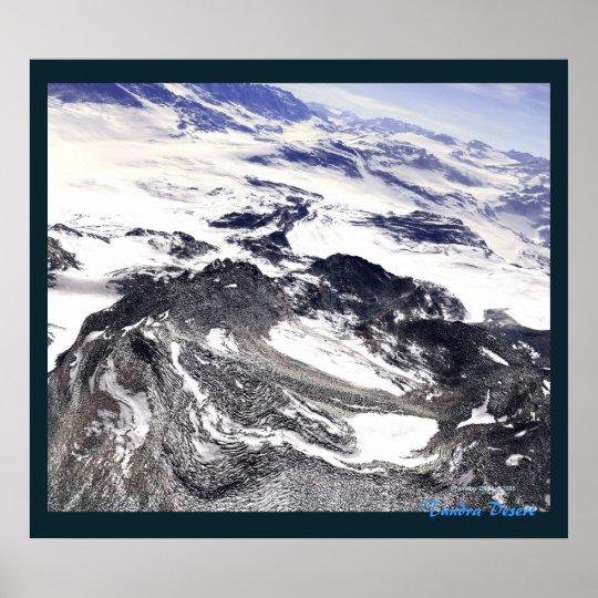 Tundra Desert Poster