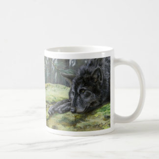 """""""Tundra in the Absence of Her Friend Spirit"""" Classic White Coffee Mug"""